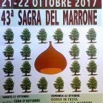 A Rivalto la Sagra del Marrone il 21 e 22 ottobre 2017