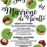 45^ Sagra del Marrone di Rivalto 12 e 13 ottobre 2019